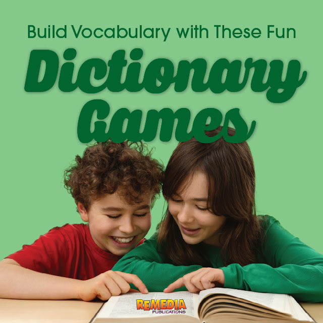 Dictionary Games | Remedia Publications