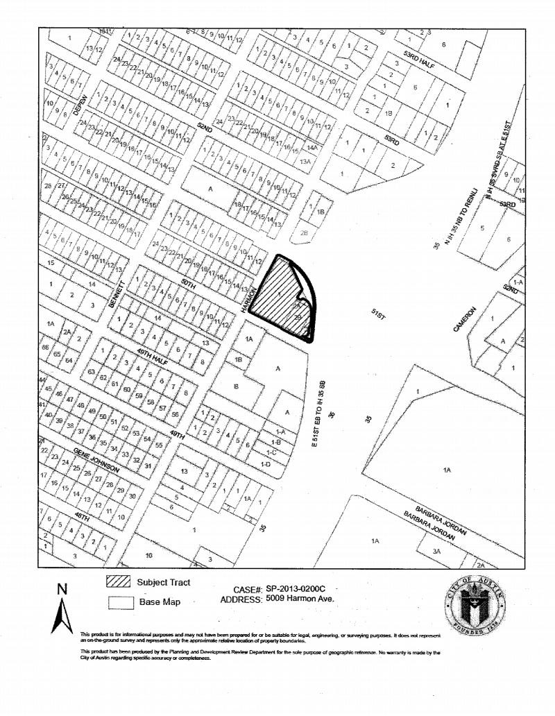 Harmon Triangle City of Austin 711 Plan notice – City Of Austin Site Plan Application