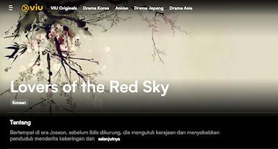 Jadwal Tayang dan Link Nonton Lovers Of The Red Sky Episode 5 drama Jam Berapa Release Date di Viu