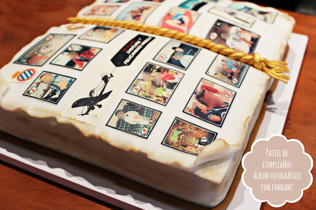 PASTEL-PARA-CHICO-ALBUM-FOTOGRAFICO-CON-FONDANT-CAKE-HAPPY-BIRTHDAY