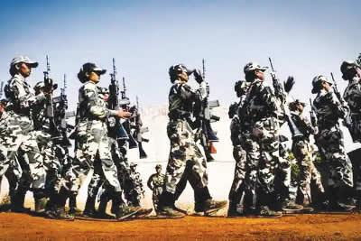 ladies soldiers