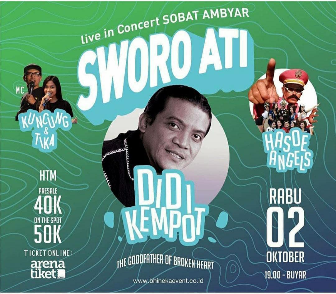Konser Ambyar Didi Kempot Klaten Karanganom Promotion Your Event