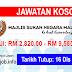 Job Vacancy at Majlis Sukan Negara (MSN)