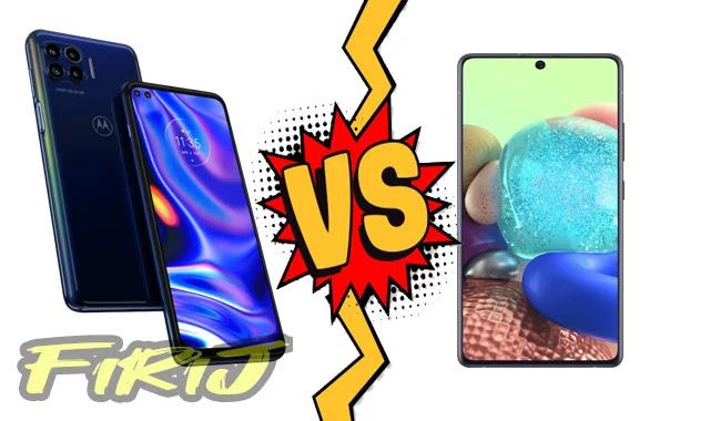 Motorola One 5G contre Samsung Galaxy A71 5G