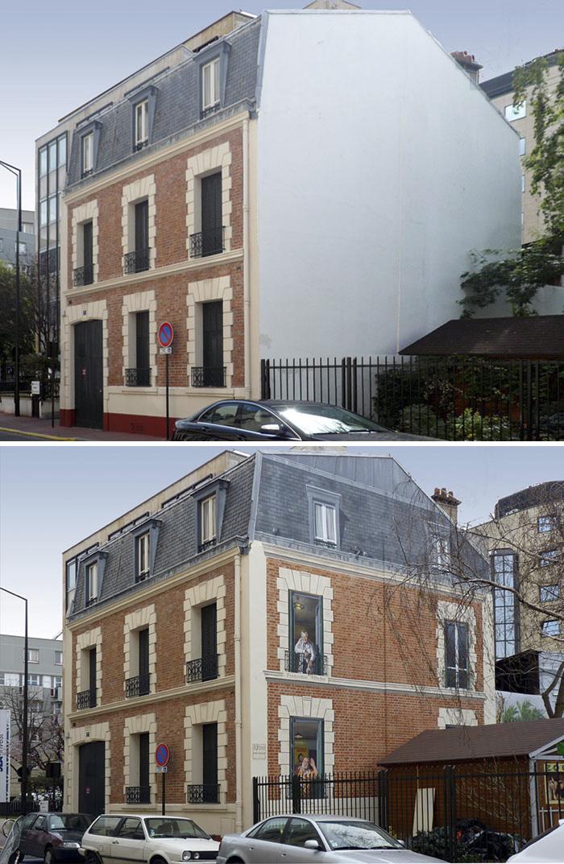 French Artist Transforms Boring City Walls Into Vibrant Scenes Full Of Life - Les Dolto