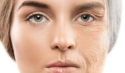 ragi reverts skin aging