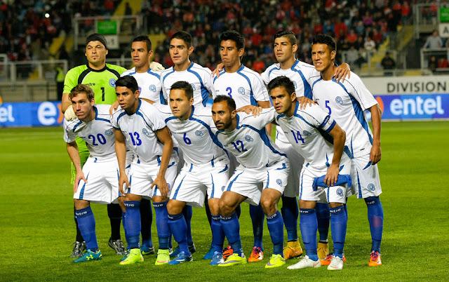 Formación de El Salvador ante Chile, amistoso disputado el 5 de junio de 2015