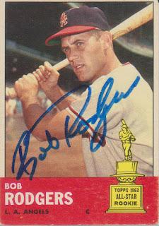 1963 Topps, Bob Rogers