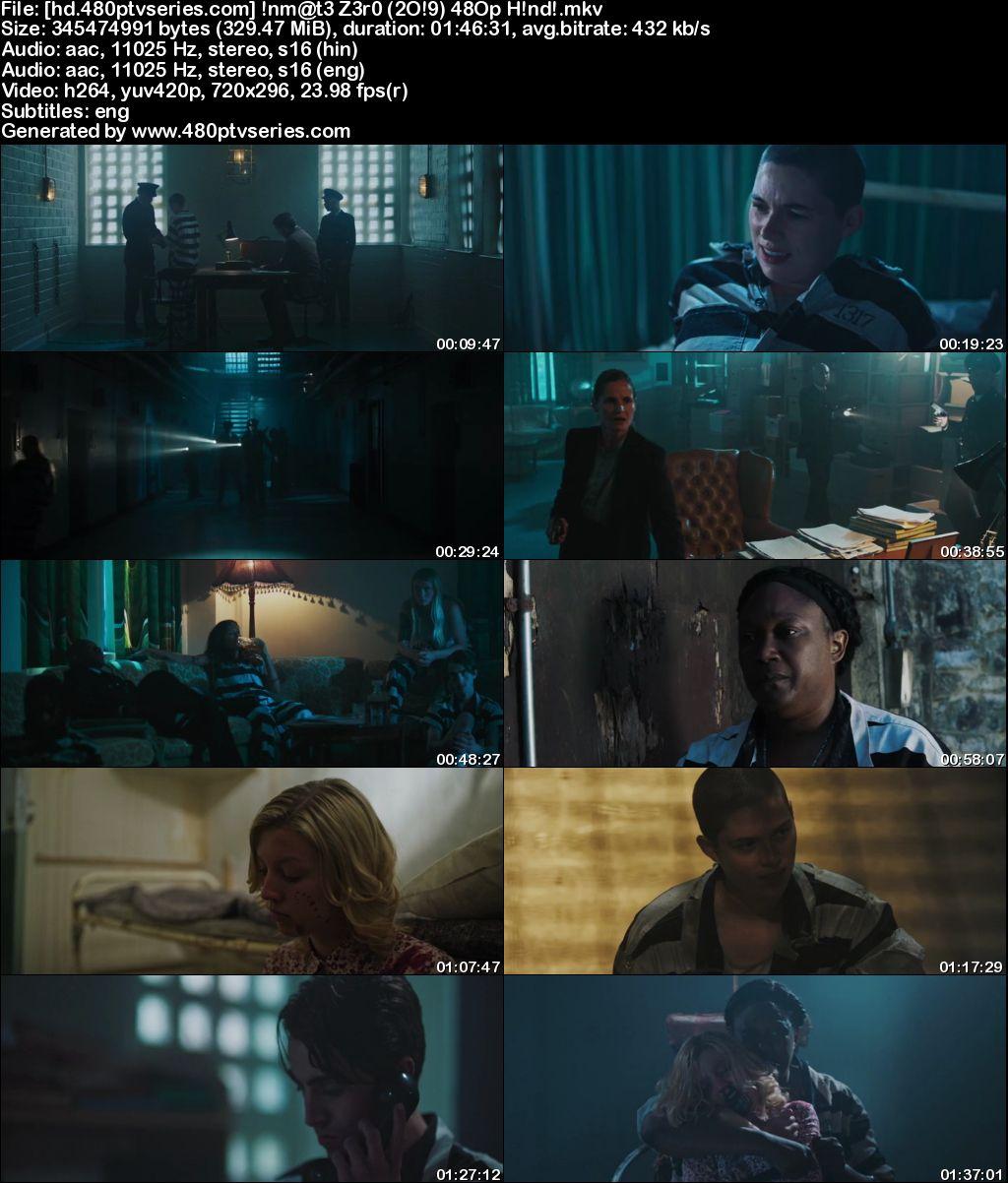 Inmate Zero (2019) 300MB Full Hindi Dual Audio Movie Download 480p WebRip Free Watch Online Full Movie Download Worldfree4u 9xmovies