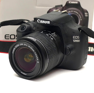 Kamera Canon Eos 1200D Second Fullset