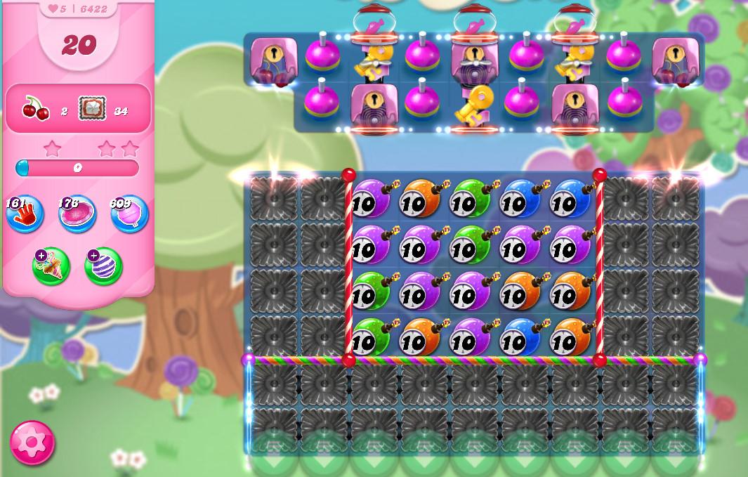 Candy Crush Saga level 6422