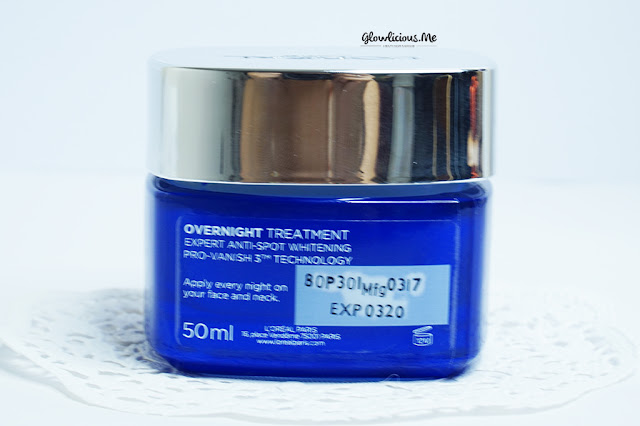 L'Oreal White Perfect Clinical Overnight Treatment 50ml