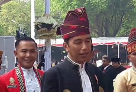 Presiden Jokowi Dipinang Untuk Menerima Gelar Datuk Sri Setia Amanah Negara