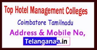 Top Hotel Management Colleges in Coimbatore Tamilnau