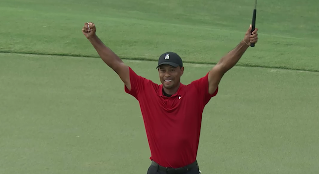 GolfCentralDaily- Golf Parody Fun Gossip Jokes Betting Tips: Compilation Of All The Best Tiger Woods Win Stories And Videos