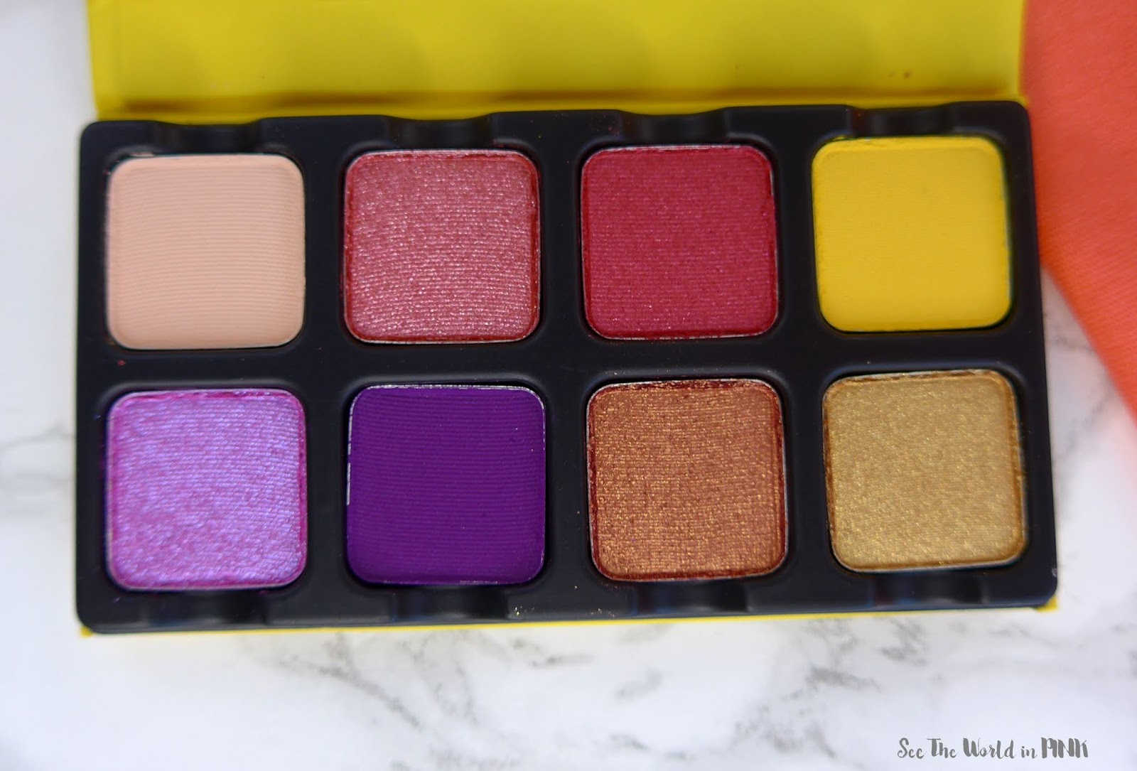 Viseart Petite Pro 5 Soleil Palette - Swatches, Makeup Look, and Review