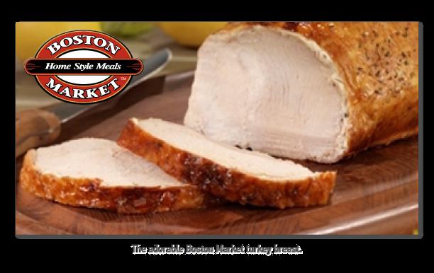 Boston Market Large Turkey Breast Nutrition Facts