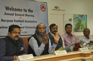 डॉ अमित भल्ला हरियाणा फुटबॉल एसोसिएशन के संरक्षक नियुक्त