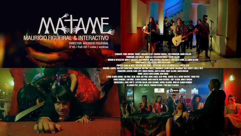 Mauricio Figueiral & Interactivo - ¨Mátame¨ - Videoclip - Director: Mauricio Figueiral. Portal Del Vídeo Clip Cubano. Música cubana. CUBA.