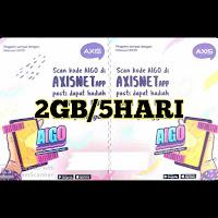 Voucer Axis 2GB/5Hari
