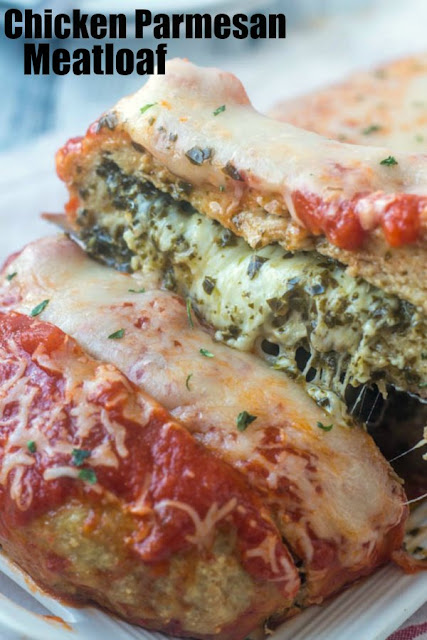 If you are looking for a dinner that is sure to wow, this chicken Parmesan meatloaf is just the thing! It is loaded with flavor and of course plenty of cheese!