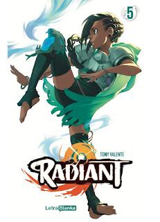 """Reseña de """"Radiant"""" vol. 5 de Tony Valente - Letrablanka Editorial"""