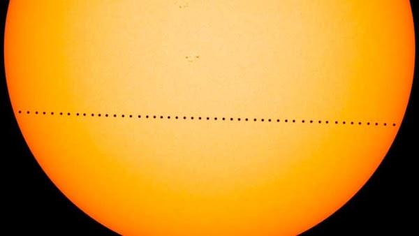 Transito de Mercurio entre la Tierra y el Sol, noviembre 2019