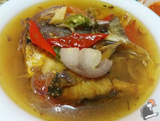 Resepi Ikan Nyok-Nyok Masak Asam