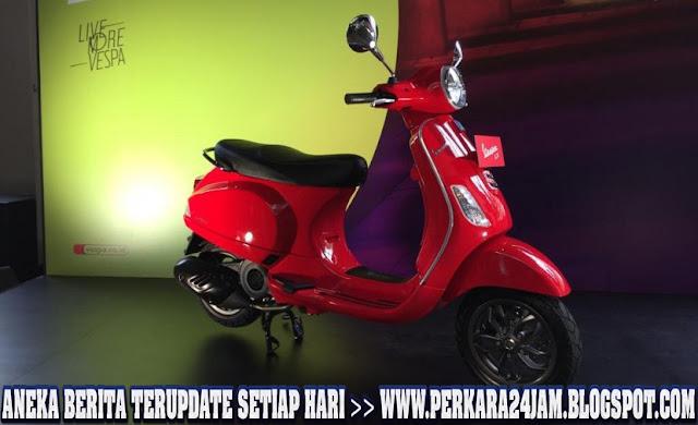 Motor Vespa LX125 i-ger Semakin Segar Dengan Sentuhan Estetika