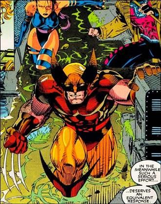 Jim Lee dibujó a Wolverine de forma espectacular