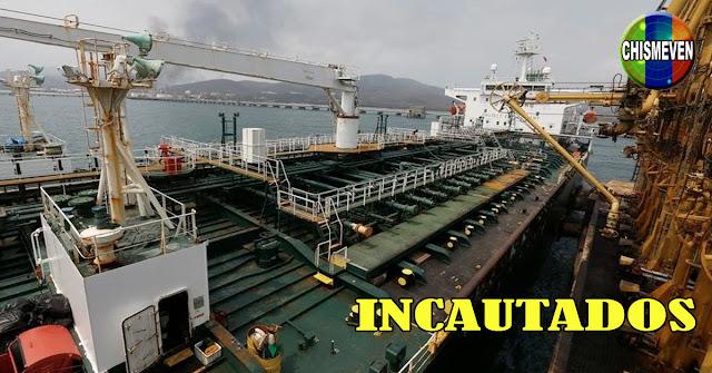 Cuatro barcos petroleros que venían a Venezuela fueron incautados por EEUU