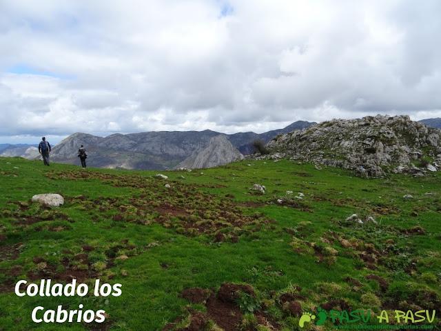 Pico Carriá desde San Ignacio: Collado los Cabrios