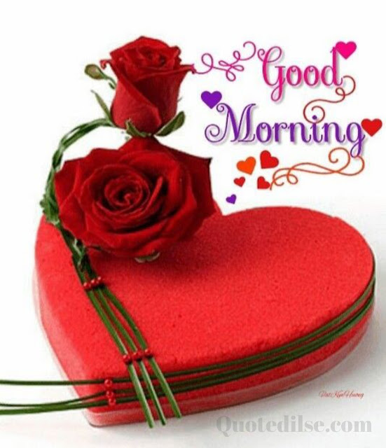 good morning love status hindi