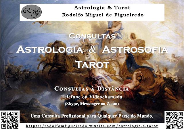 Consultas de Astrologia, Astrosofia e Tarot - Rodolfo Miguel de Figueiredo