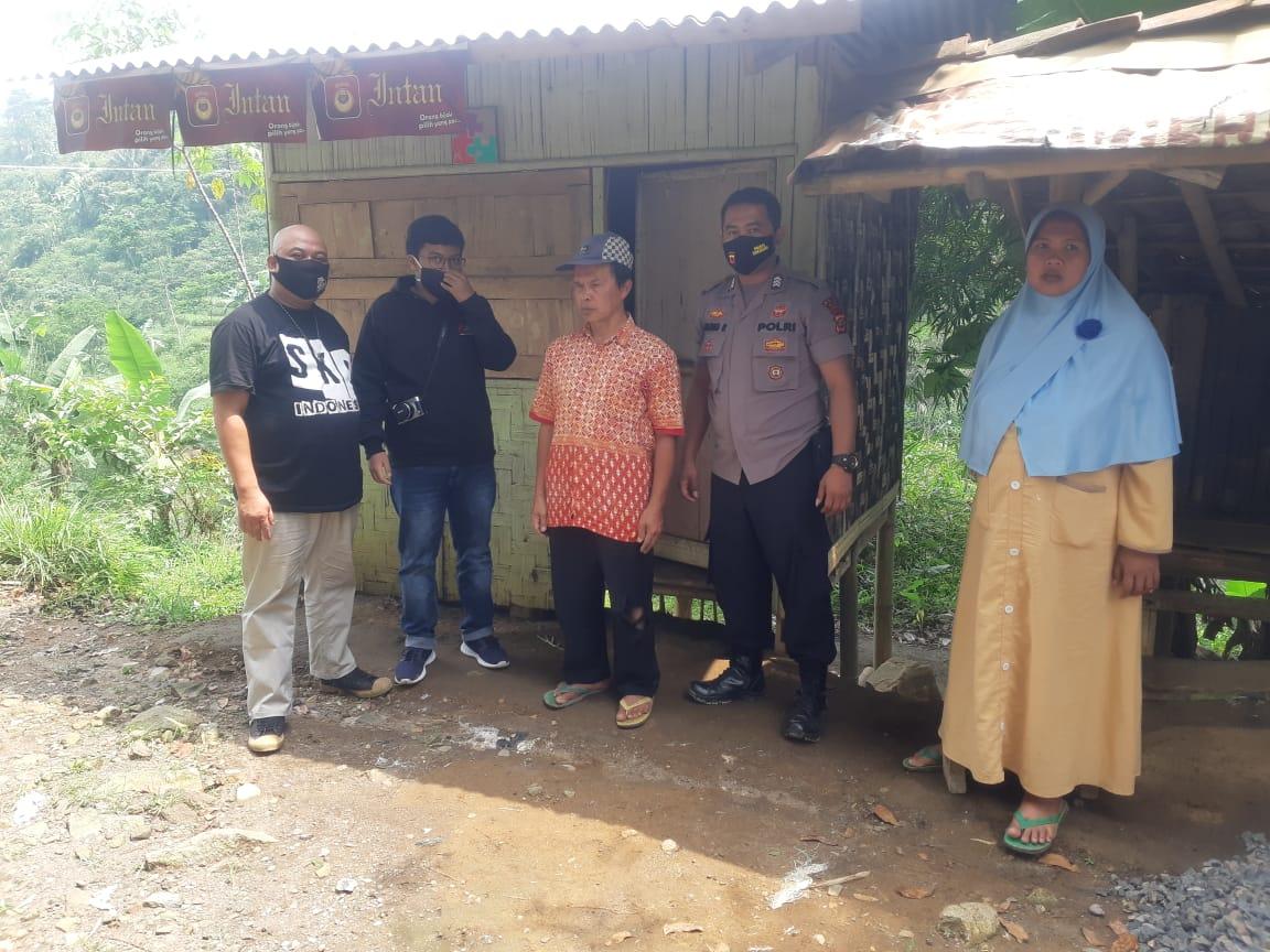 Komunitas Sahabat Kristiawan Peduli Sukabumi Respon Terhadap Nasib Tuna Netra di Cikaracak