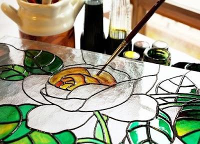 Patrones Gratis para Pintar en Cristal
