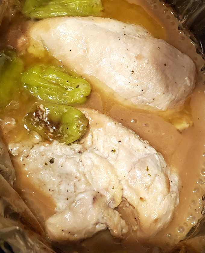 chicken using the mississippi style recipe