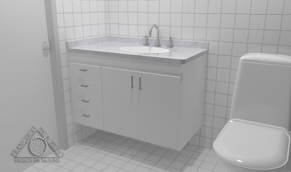 Francisco Pai & Filho Projeto Gabinete de Banheiro II  Modelo SS -> Gabinete De Banheiro Ncm