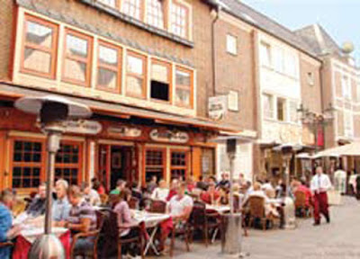 Restoran Pinggir Jalan Dusseldorf