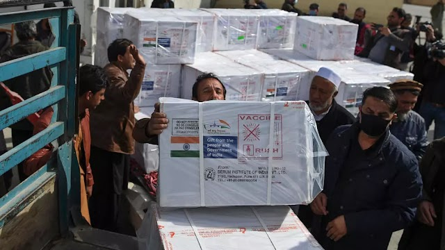 Afghanistan gets first doses of Covid vaccine from India