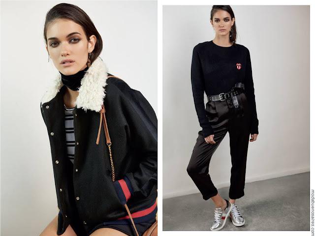 Camperas, abrigos, sacos invierno 2017 moda mujer. Ropa de mujer 2017 inverno.