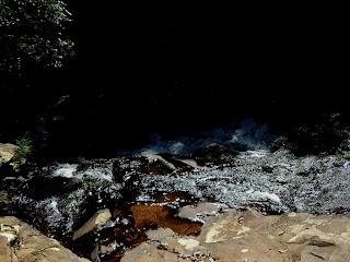 Cabeceira da Queda d'Água da Cascata dos Marins, em Cotiporã, no RS