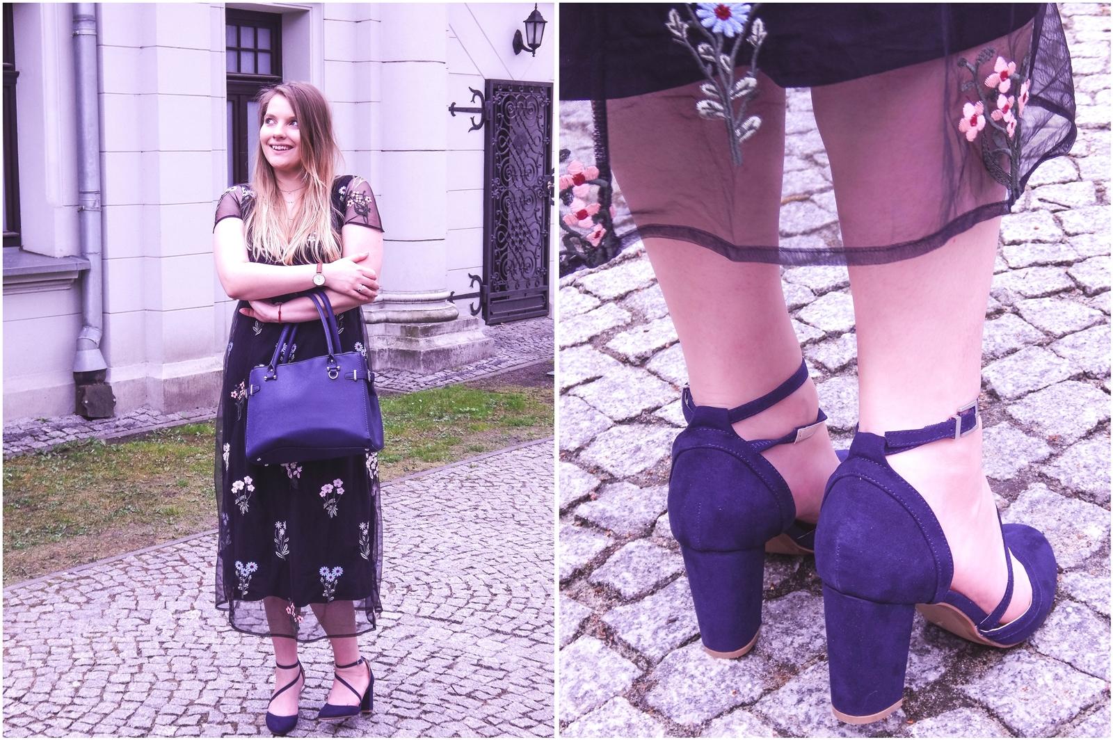 9a orsay trendy wiosna 2018 nowa kolekcja moda fashion blog blogerki modowe łódź z łodzi łódzkie melodylaniella fashion instagram sukienka na wesele różowy płaszcz granatowe pantofle duża torba