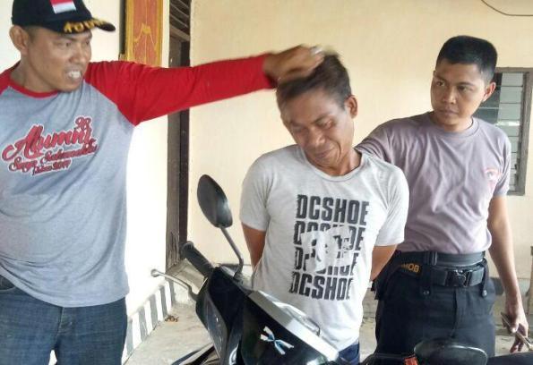 Kepergok Preteli Motor Curian di Bengkel, Pemuda Ini Nyaris Tewas Dihakimi