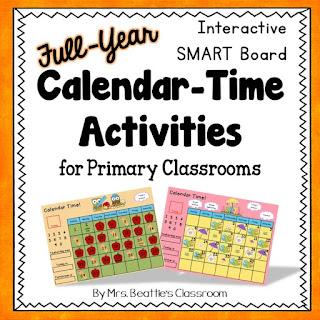 Cover of calendar math resource.