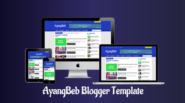 AyangBeb Responsive Premium Blogger Template - Responsive Blogger Template