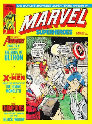 Marvel Superheroes #364, the Avengers