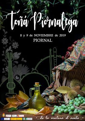 Toñá Piornalega. 8 y 9 de noviembre en Piornal. Otoñada 2019
