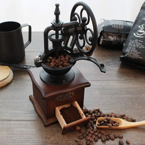 MOON-1 Antique Manual Coffee Grinder