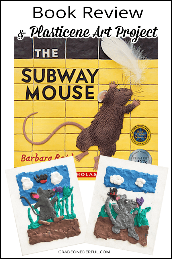 The Subway Mouse by Barbara Reid. A fabulous book to share with your primary students. Come read the book review and ideas for extending the story, including pictures and links for a plasticene art project. by GradeOnederful.com